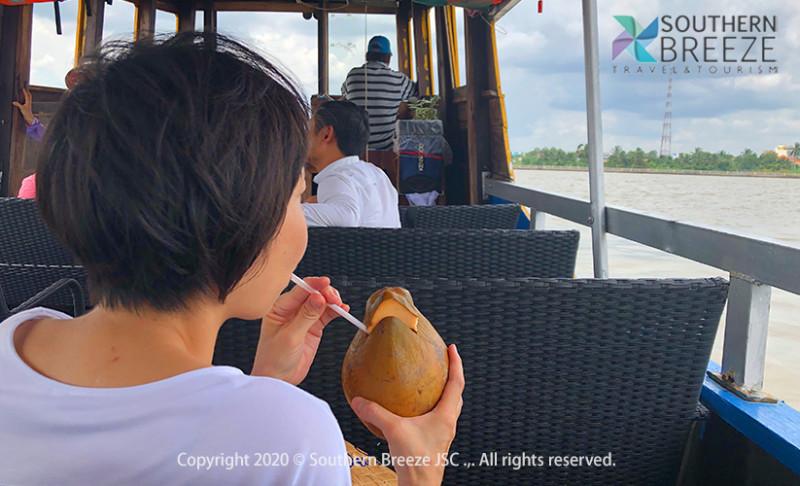 の画像 一番人気のツアー!一日:大河メコンデルタクルーズ  #3