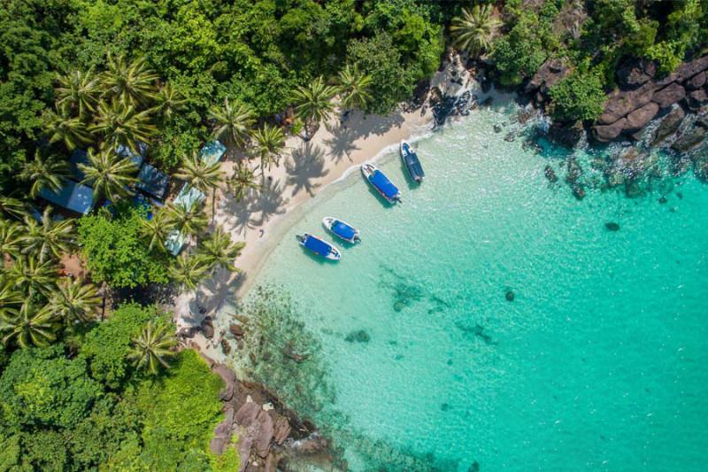の画像 一日:フーコック島ディスカバリーツアー(4島巡り)/トム島~モンタイ島~ガムギ島~マイルット島*専用車&専用ガイド #1