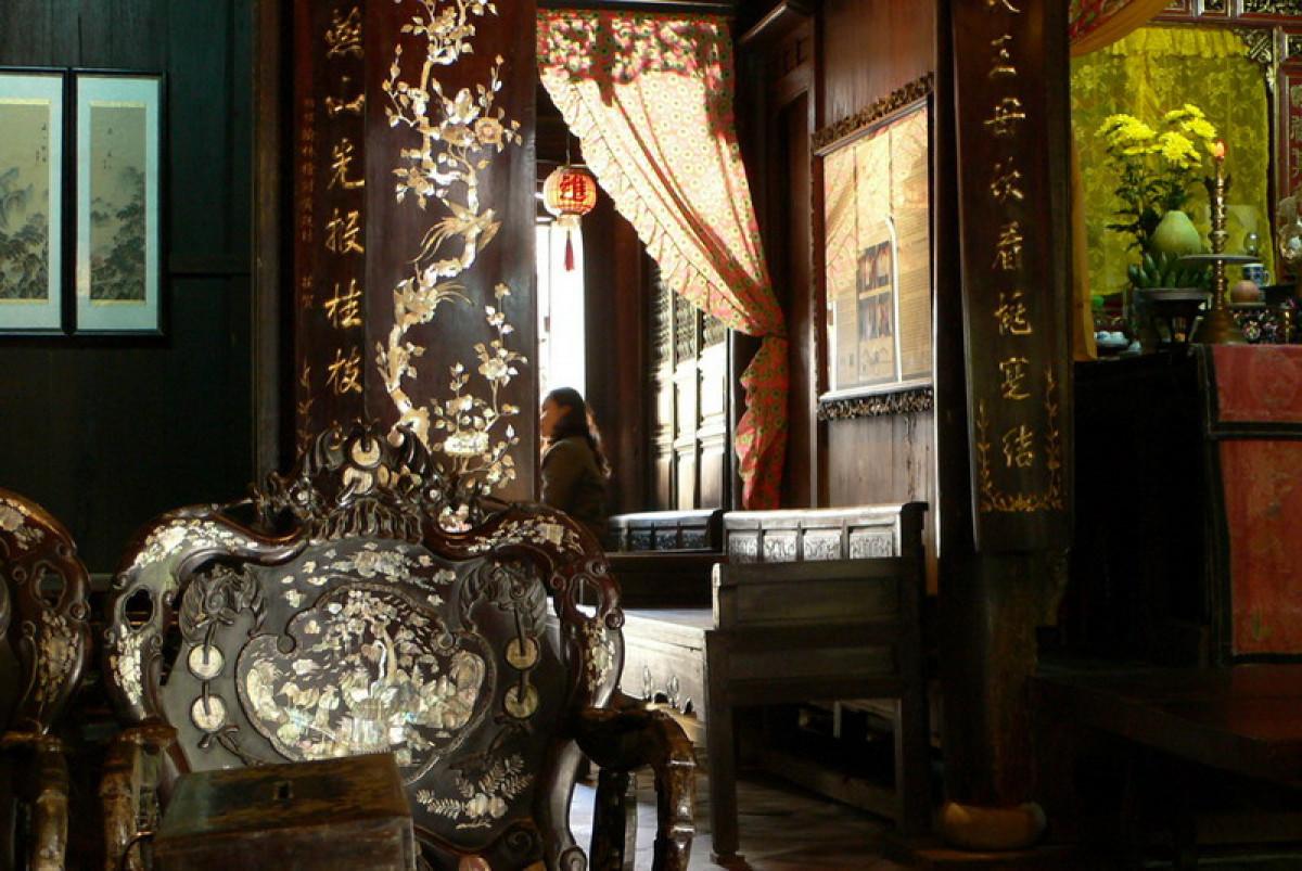 ホイアンを効率よく観光!半日:フーンフンの家+海のシルクロード博物館+福建会館+来遠橋(昼食付)