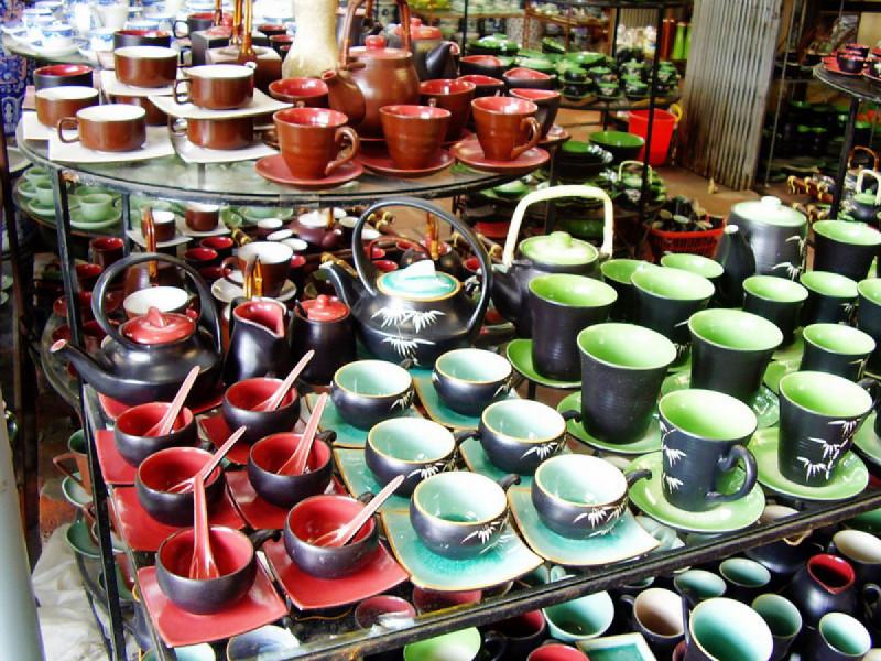 の画像 ハノイ充実ツアー!一日:ハノイ市内&バッチャン村観光(昼食付)