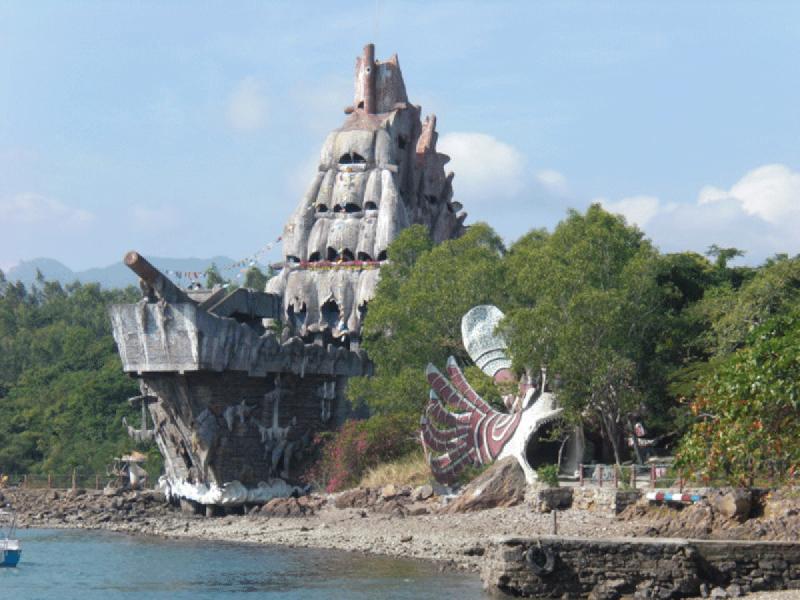 の画像 青い海を見ながら離島巡り!一日:ブルーオーシャンのアイランドホリディー(ミュ島の水族館→モッ島でシュノーケリング→ニャチャン)昼食付