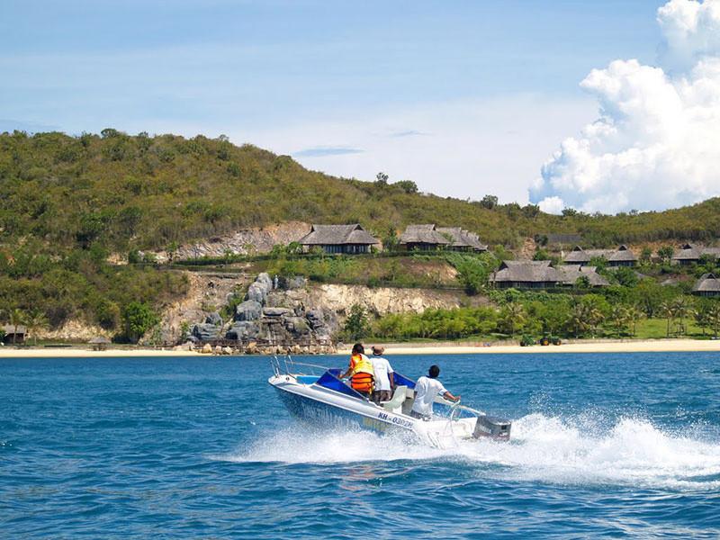 の画像 半日:スピードボートで島散策(食事無)