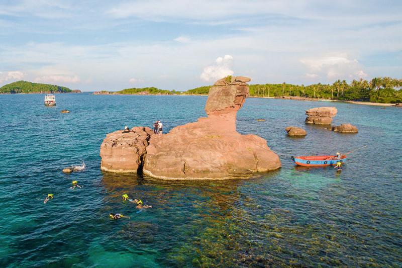 の画像 一日:フーコック島ディスカバリーツアー(3島巡り)/モンタイ島~ガムギ島~マイルット島 #1
