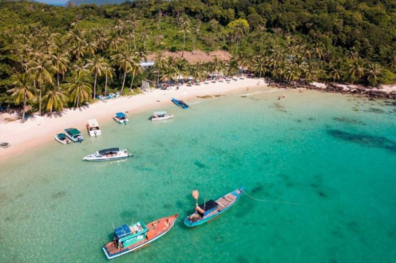 の画像 海上ケーブルカーとボートで4島巡り!一日:フーコック島からトム島~モンタイ島~ガムギ島~マイルット島巡り *専用車&英語ガイド